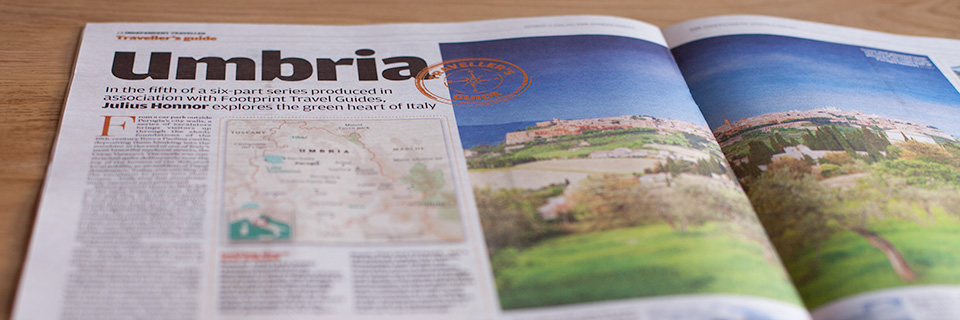 Independent article on Umbria